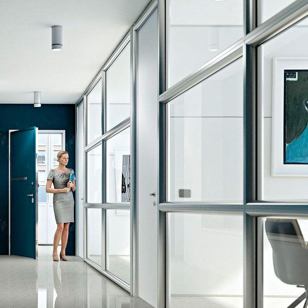 Как правильно выбрать алюминиевые офисные перегородки