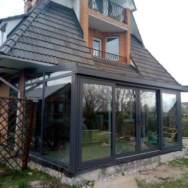 Зимний Сад для частного дома АлюмГласс