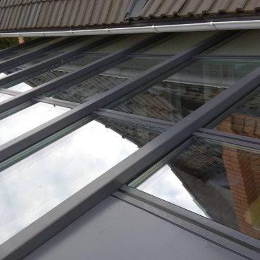 Теплая крыша для зимнего сада алюминиевая система REYNAERS (Бельгия) АлюмГласс