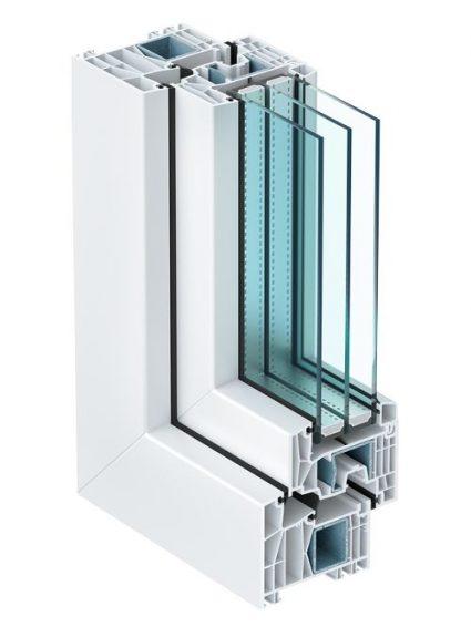 окна Kömmerling 88