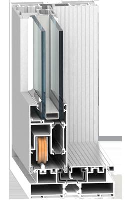 Раздвижная система Framex ST 125