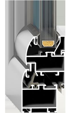 Алюминиевый профиль FRAMEX F 46